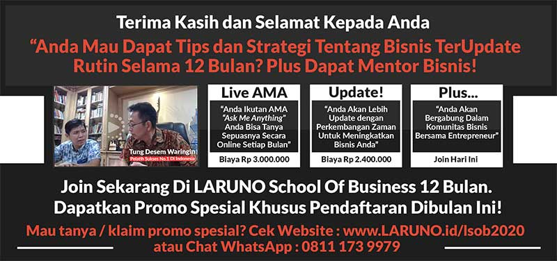 Laruno School Of Business 12 Bulan