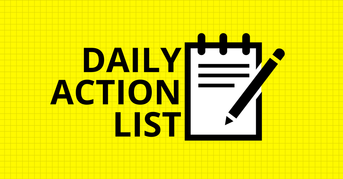 Action List Financial Mastery [Materi]
