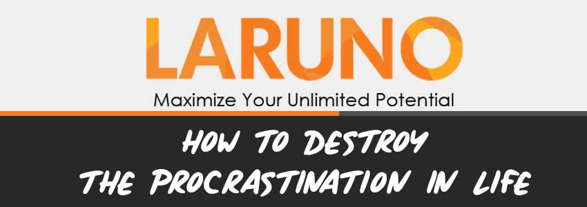 How To Destroy The Procratinations In Life [MindMap]